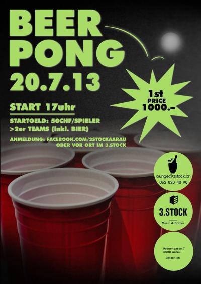 Beer Pong ABGESAGT