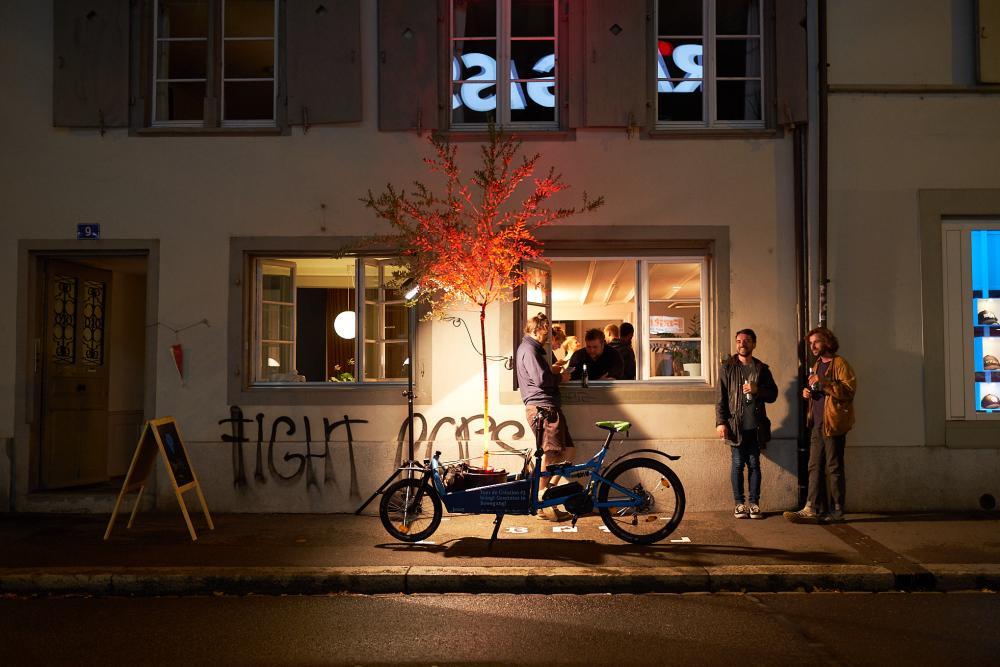 Tour de Création #3 im September 2018 in der Kleinbasler Altstadt