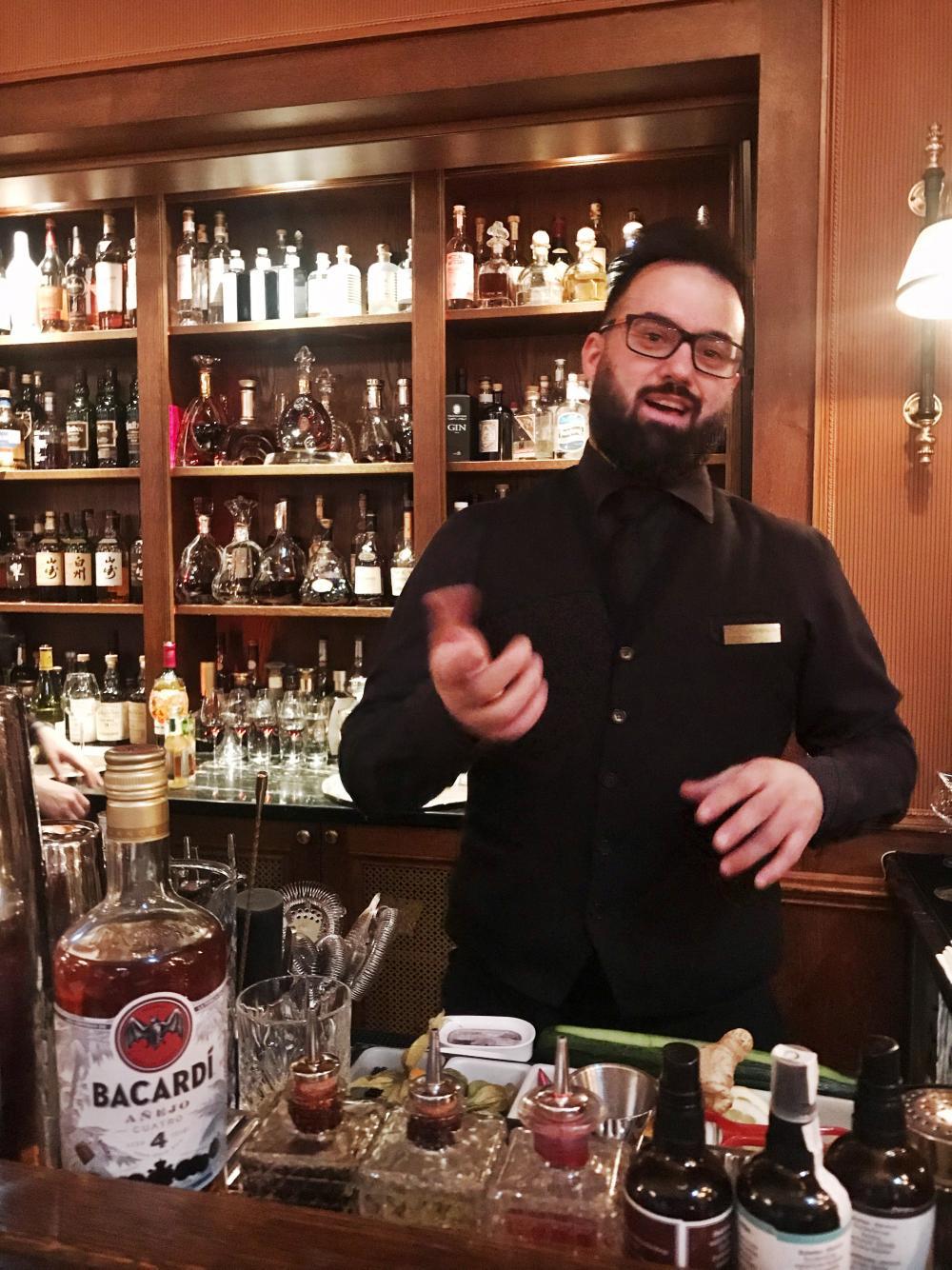 Hat sich soeben für das Weltfinale der Bacardí Legacy Cocktail Competition in Miami qualifiziert: Christos Kostopoulos.