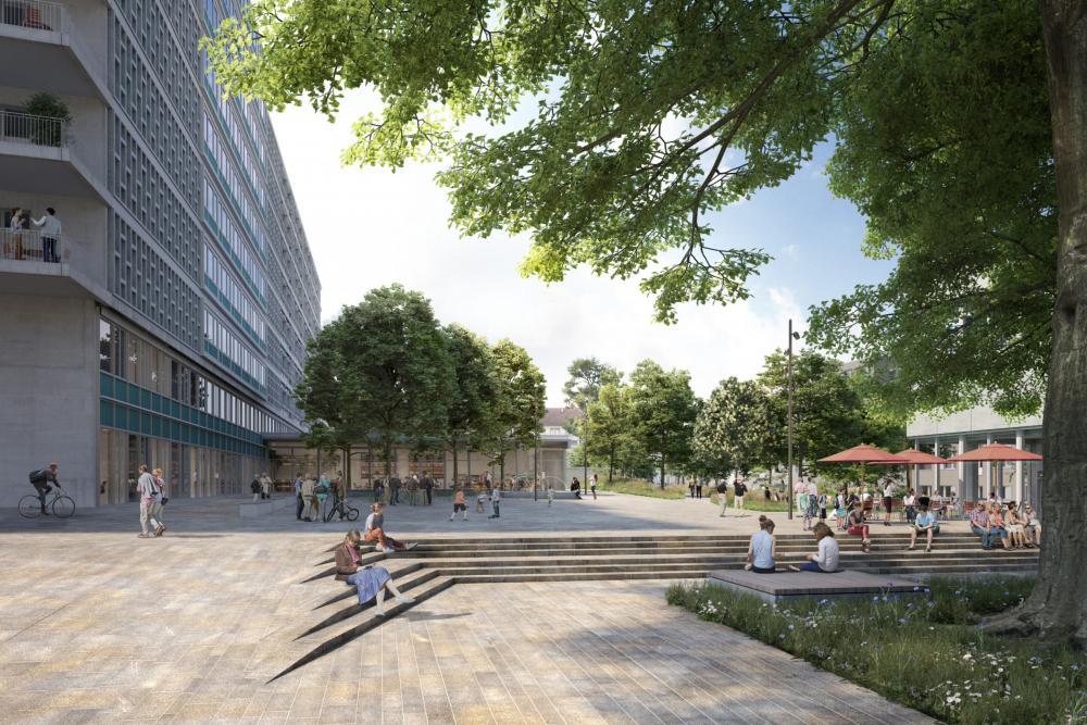 Das neue Wohnquartier Westfeld entsteht.