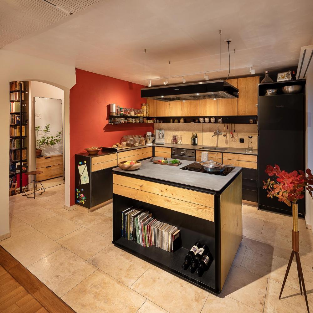 Wer braucht schon normale Küchen?