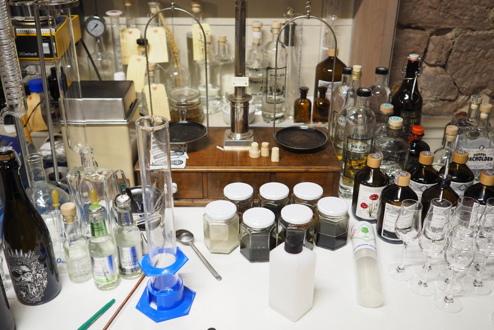 Am Labortisch von Tobias und David