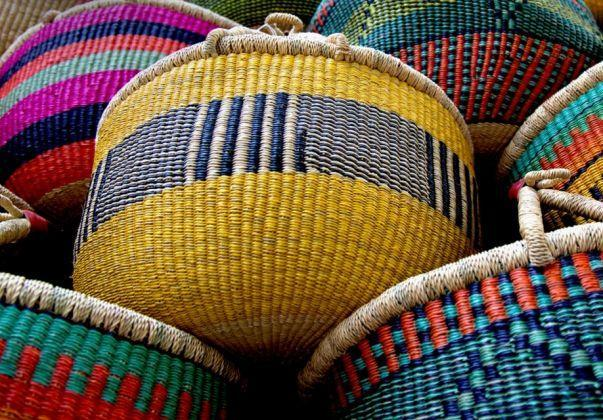 Die handgefertigten Körbe der Baba Tree Basket Company gibt's ab August bei AHOI AHOI presented