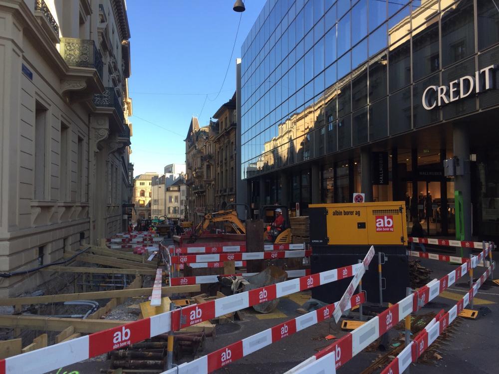 Die Werkleitungen der Freien Strasse sind teilweise über 100 Jahre alt.