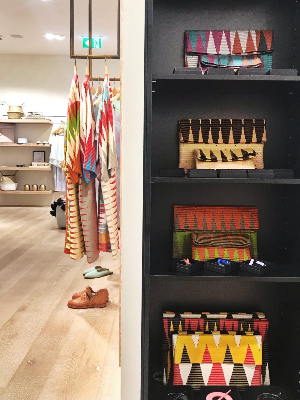 Ganz besonders verliebt sind wir in die farbenfrohen Produkte von der in Basel lebenden Theresa Brar.
