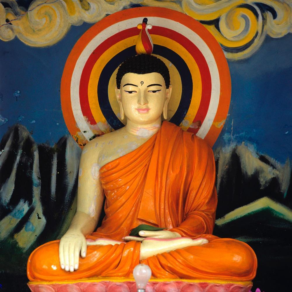 Buddha Shakyamuni, Sri Lanka