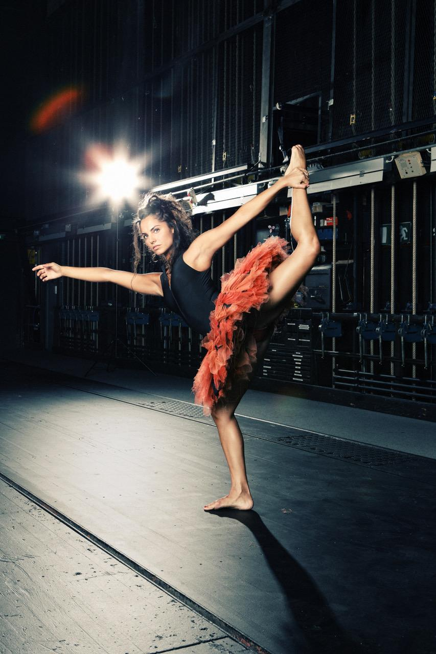 Tanz und Orgel? Wie das einher geht, zeigt uns Tänzerin Andrea Tortosa Vidal.