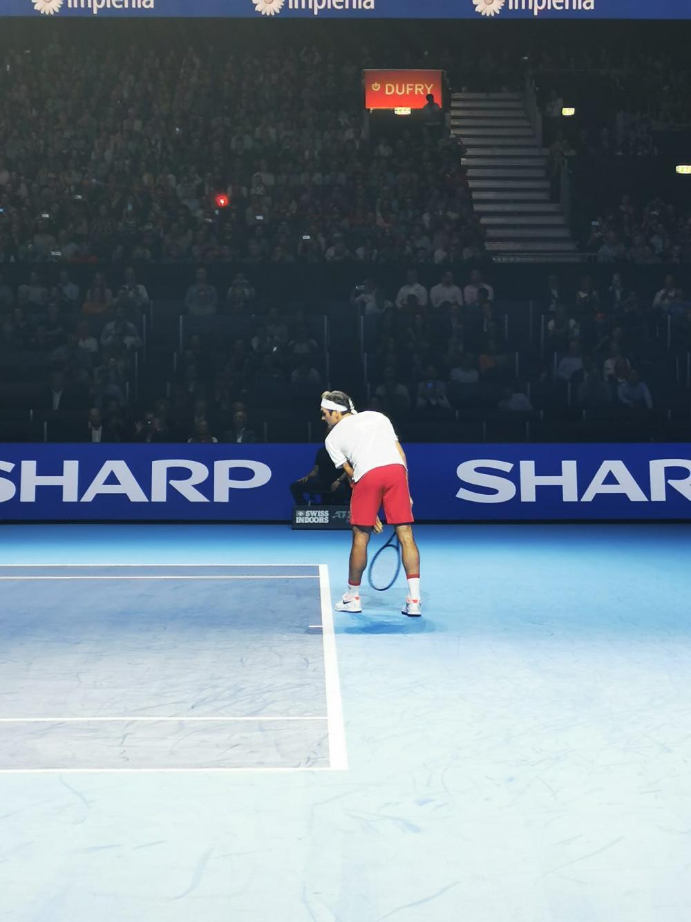 Jedes Jahr der Star der Swiss Indoors Basel: Roger Federer