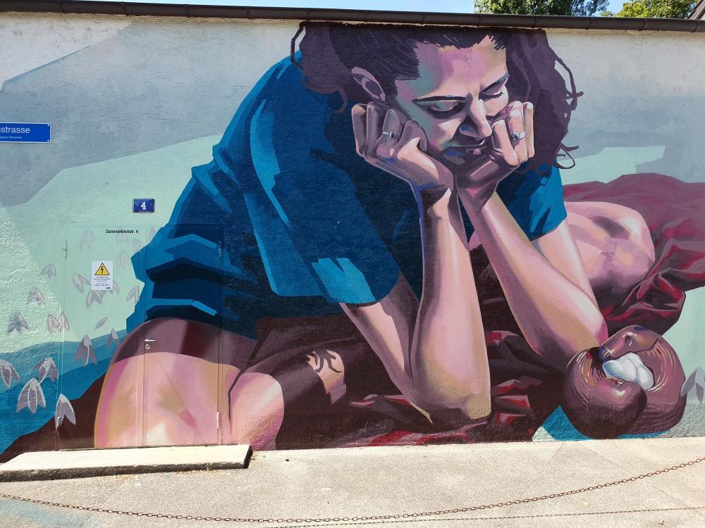 Stadttour der IWB durch die Urban Street Art-Kunst von Basel