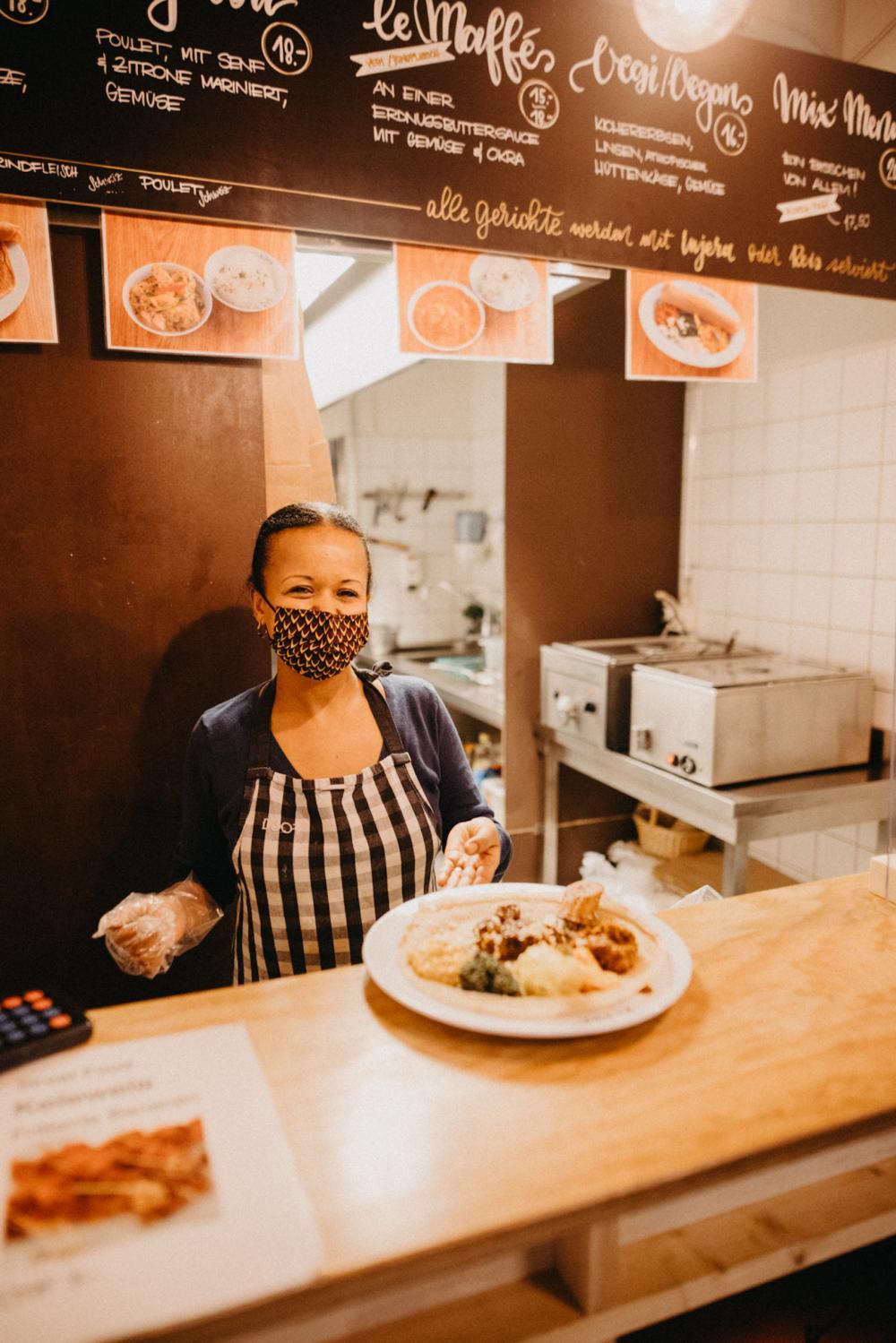Feinste Speisen aus Äthiopien und dem Senegal findest du bei Meaza von AfroLicious.