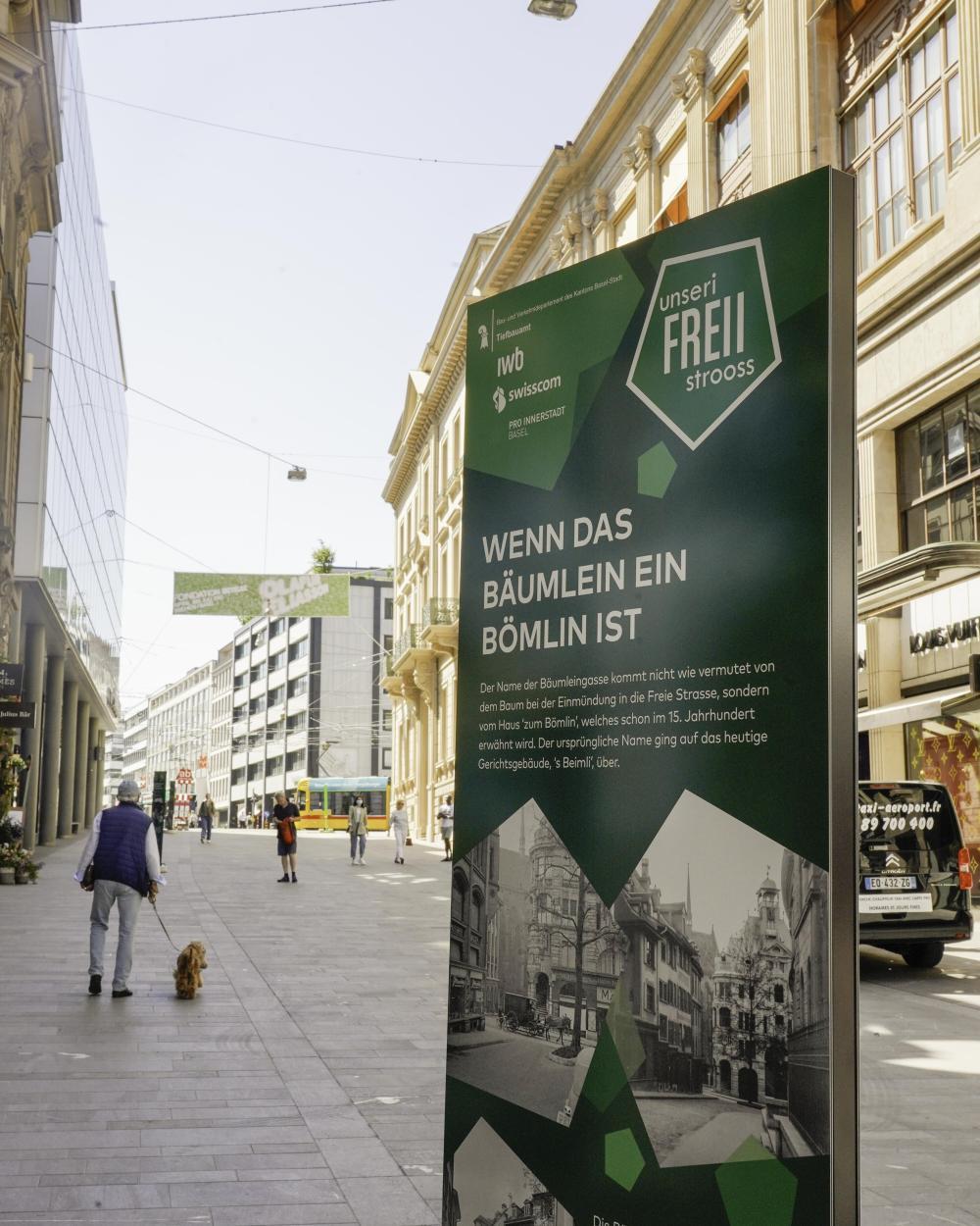 Aktuelle Informationen zur Umgestaltung findest du jeweils auf der Website des Tiefbauamts Basel-Stadt!