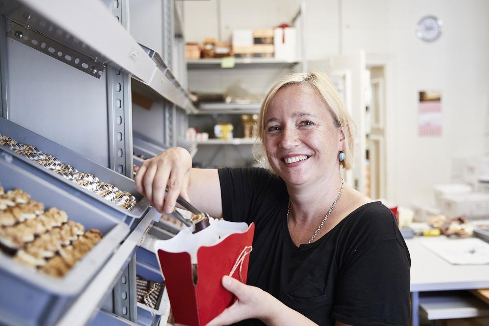 Annett Willimann vertritt die Confiserie Brändli seit Anfang 2020 nach aussen.
