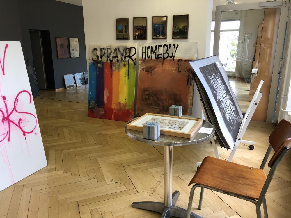Die Preise der Werke, die im Artstübli ausgestellt sind, bewegen sich zwischen 200 und 8000 Franken.