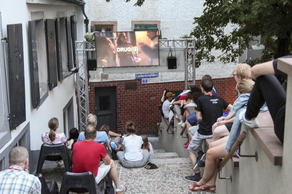 Auch am Leonhardsstapfelberg bietet sich genug Platz für entspannte Filmabende.