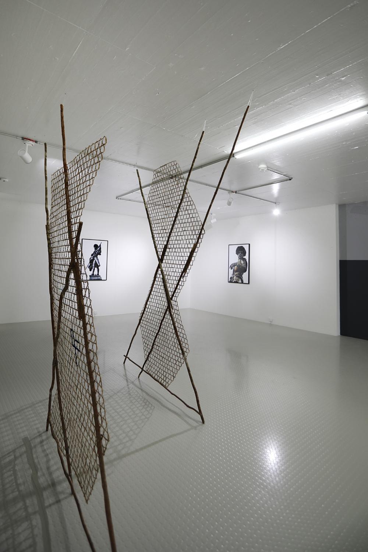 Ausstellungsansicht Minia Biabiany und Nelson Fory Ferreira