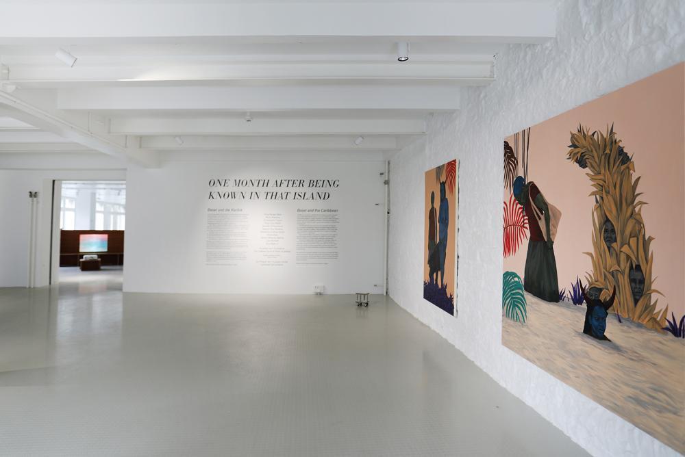 Ausstellungsansicht Tessa Mars