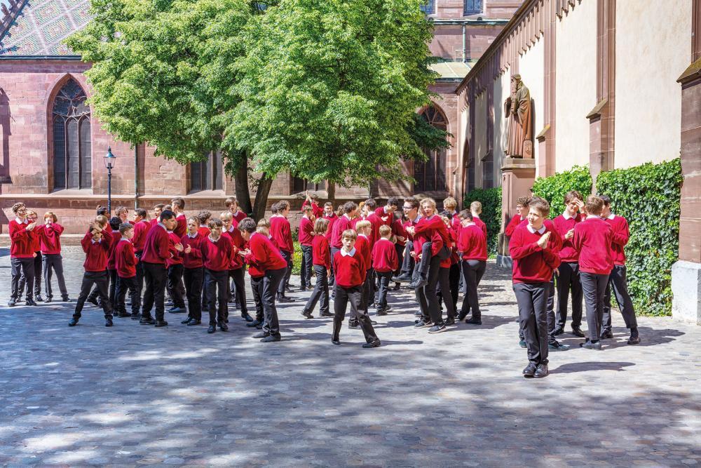 Darf bei der Chornacht natürlich nicht fehlen: Die Knabenkantorei Basel.