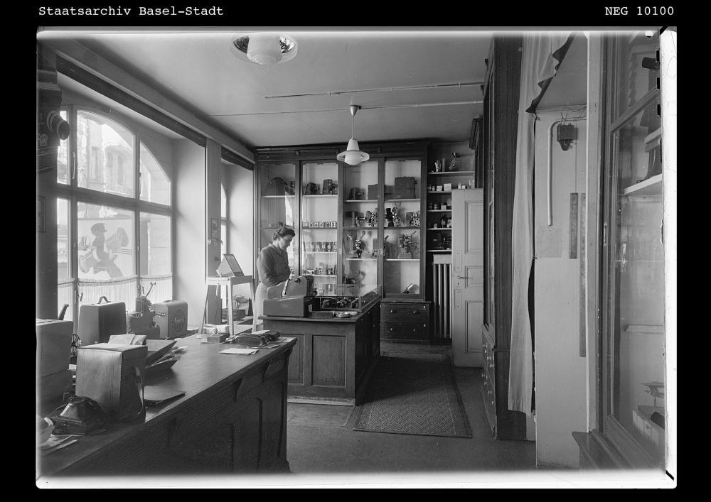 Das Fotohaus an der Freien Strasse um 1937...