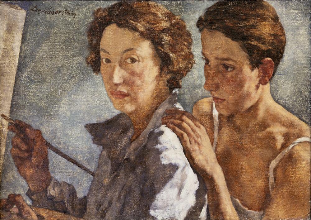 Lotte Laserstein, Ich und mein Modell, 1929/30