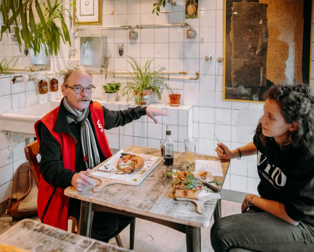 Markus engagiert sich für soziale Veränderungen und ist seit einem gesundheitlichen Zwischenfall selbst Sozialhilfebezüger und Langzeitstellensuchender.