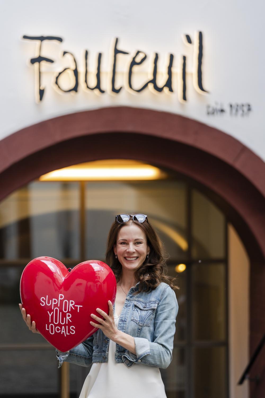 Caroline Rasser, Leiterin Theater Fauteuil