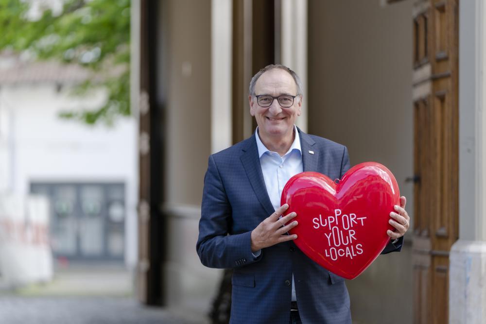 Dr. Beat von Wartburg, Direktor Christoph Merian Stiftung (CMS)