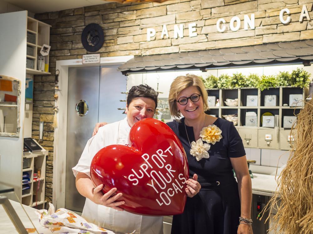 Franzisca Brugger und Miryam Probst-Brugger, Inhaberinnen Pane Con Carne