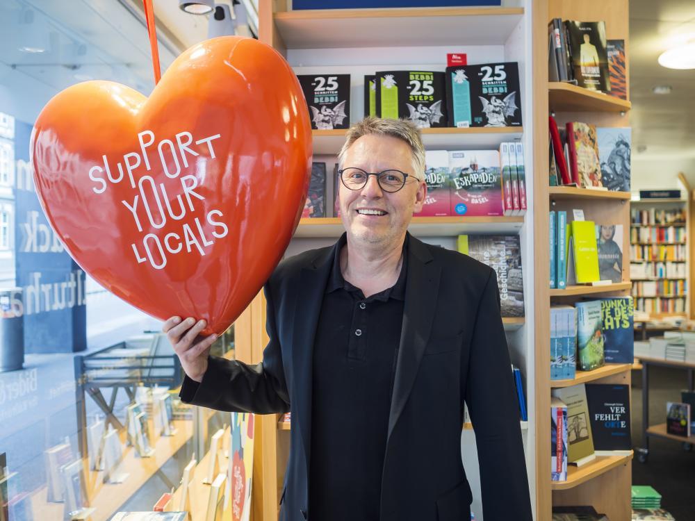 Jens Stocker, Inhaber Kulturhaus Bider & Tanner