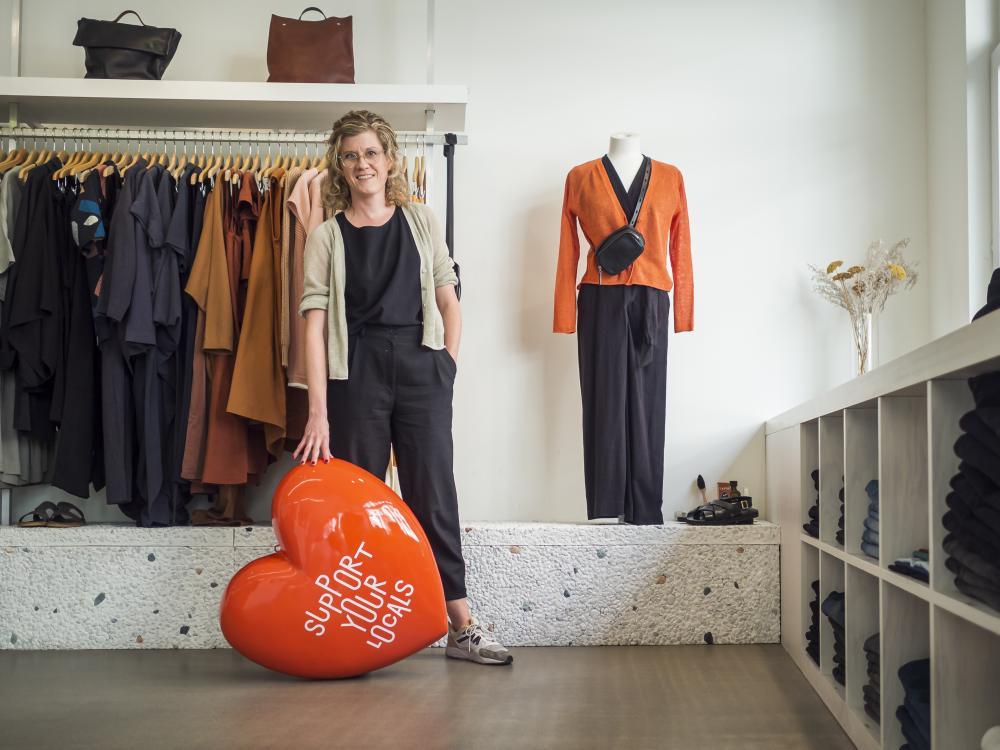 Marianne Mumenthaler, Inhaberin Ooid Store