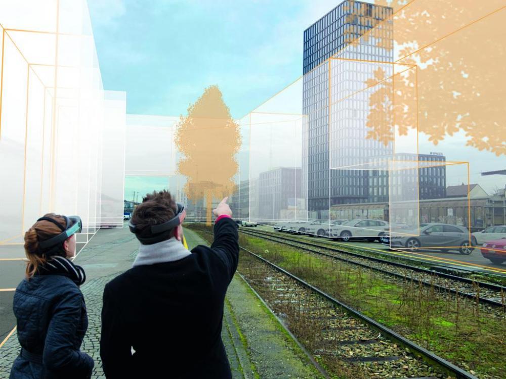Das Smart City Lab ist eine Initiative der SBB und des Kantons Basel-Stadt und bietet rund 160'000 m2 als Testraum für Ideen, Prototypen und Services in den Bereichen Logistik, Mobilität und mehr.