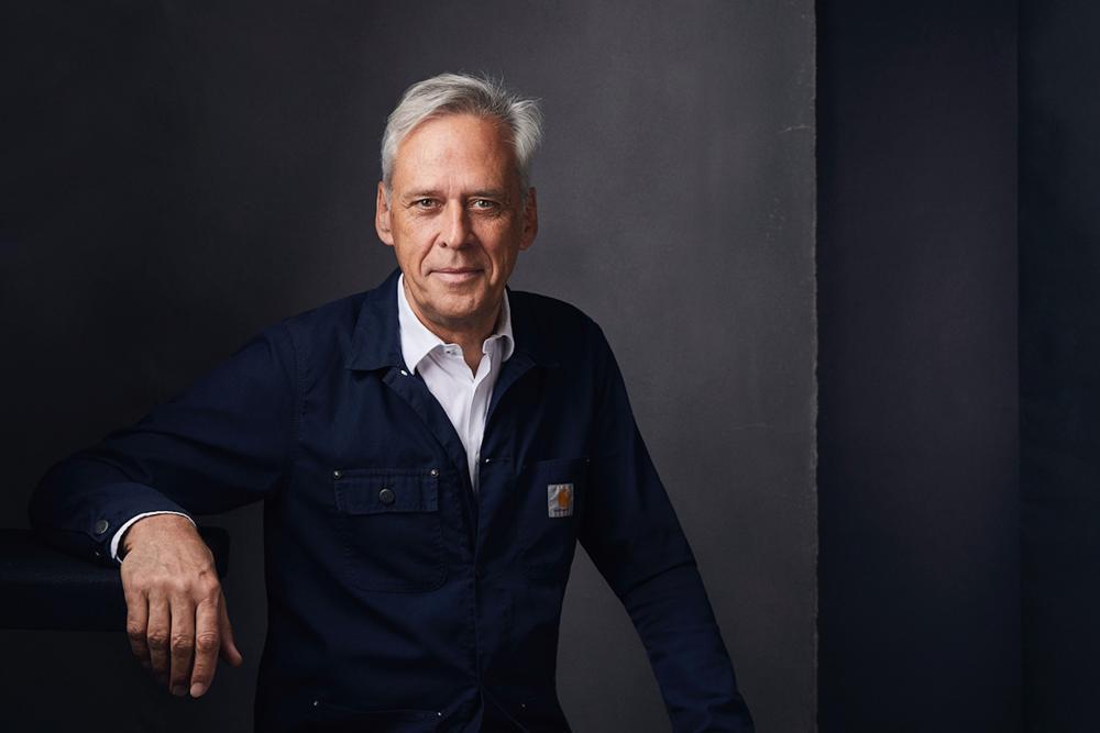Portrait of Klaus Littmann.