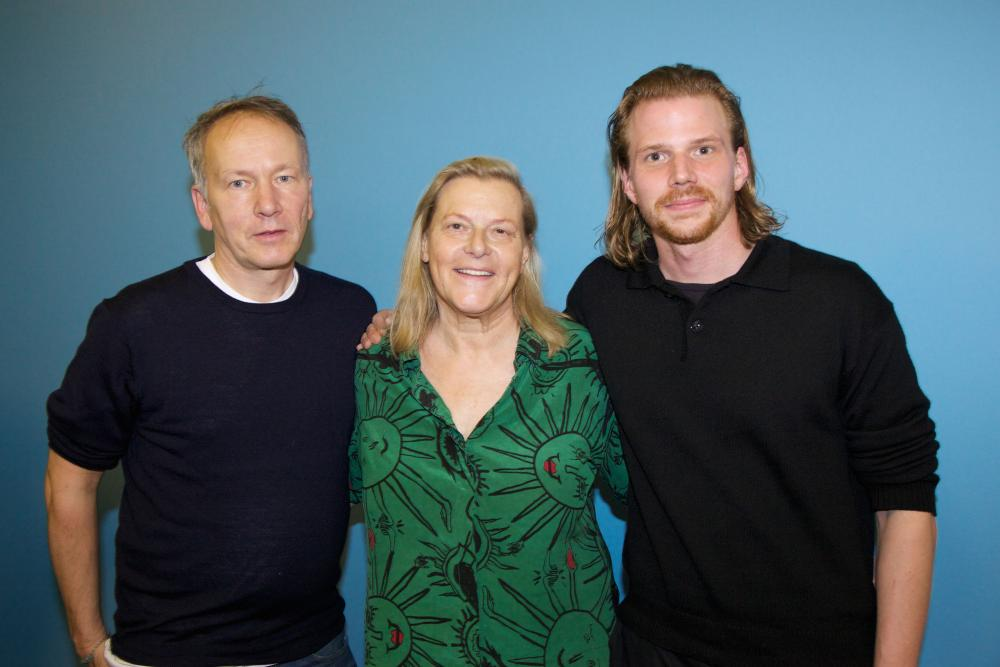 Arm in Arm mit den Guests of Honor: Thomas Wöbke und Tim Fehlbaum