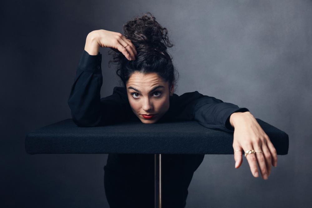 Die Basler Tänzerin Andrea Tortosa Vidal entwickelt eine eigene Choreographie zur Orgelmusik.
