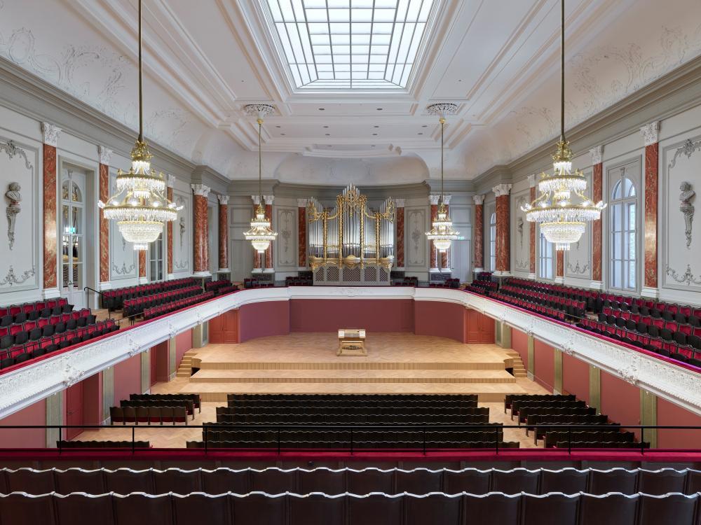 Die neue Metzler-Orgel im Stadtcasino Basel