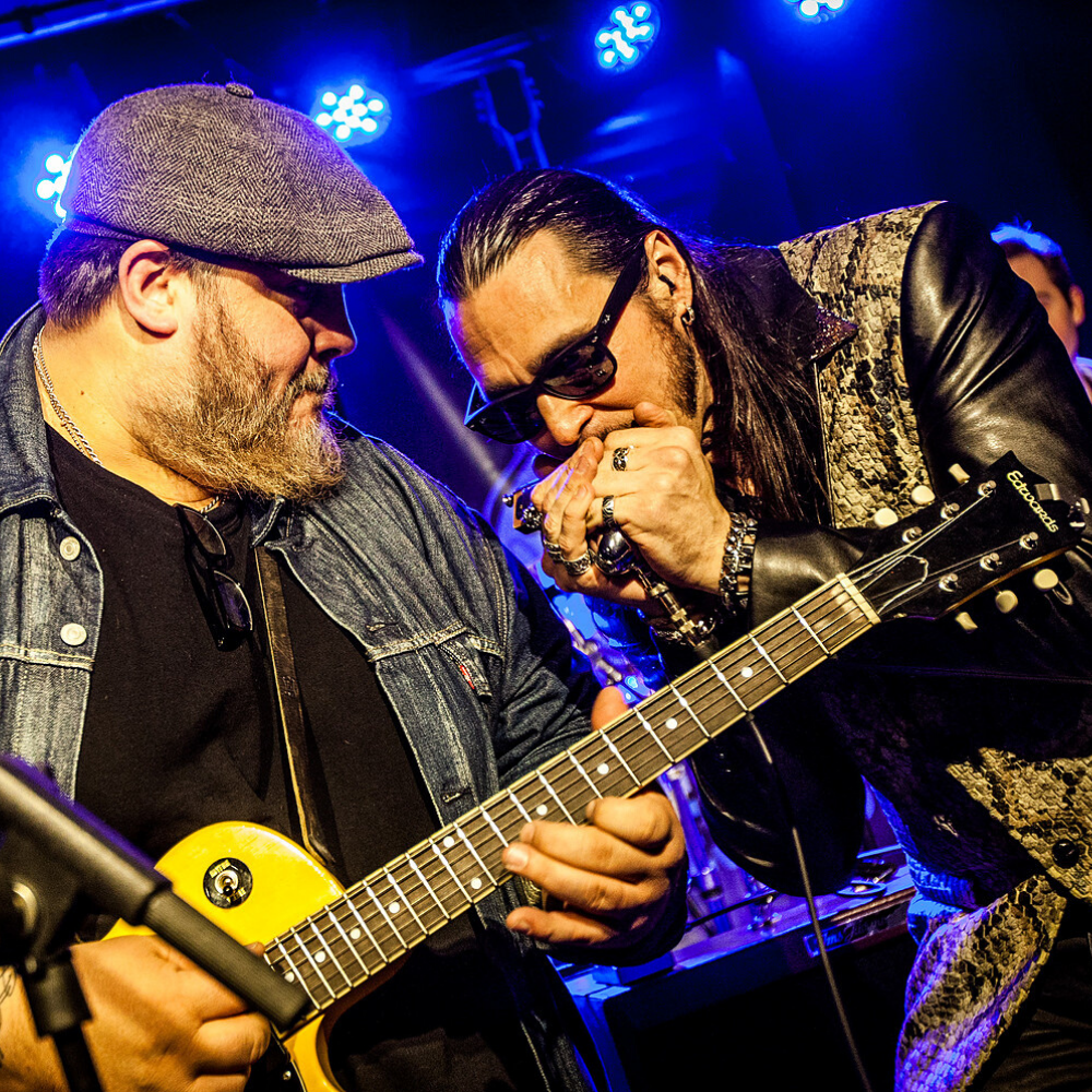 Nick Moss Band feat. Dennis Gruenling & Andrew Duncanson (© Groove Now)